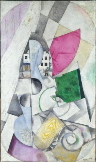 M.Chagall_Paysage cubiste_1919-1920